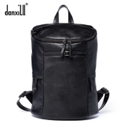 Danxilu fabric with matching leather fashion casual men's bags shoulder bag men bags man bag men's laptop bag surge
