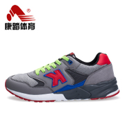 Fall/winter recreation tread new retro running shoes men shoes sneaker slip shock absorbing tourism student shoes