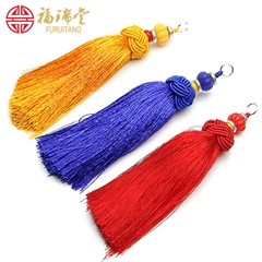 Standard pineapple stream Su Sui hair accessories wedding earrings curtain tassel jewelry craft tassels