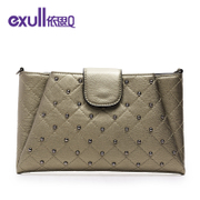 Exull q2015 new winter fashion simple HASP dinner clutch bag wallet purse 15344275