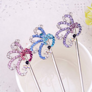 Fine Peacock hairpin hair ornament hairpin hair accessories Korea head accessory plug