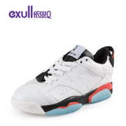 Exull q2016 spring sneakers new Korean version of the Joker's excellent colour matching head tie women shoes 16154144