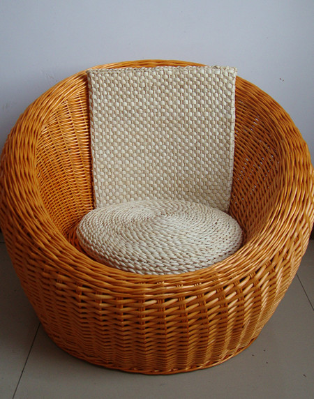 藤椅懒人 沙发 椅子创意柳编藤沙发 低价 正版 单人 藤编 工艺