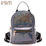 Wild Korean version mini backpack bag small shoulder bags woman laser bag fresh small bag