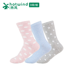 Hot Lady in thin stockings solid color socks-and-cloud combination women's socks 83H155700