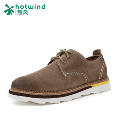 Hot spring business casual men shoes male boomers round head jigs of England shoes low cut shoes 61W5752