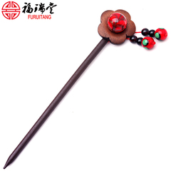 Vintage China wind came moaning hairpins with Nan red-Pearl antique classical elegant hairpin hair Jewelry Accessories