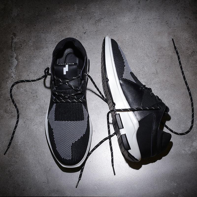 运动休闲鞋男夏季新款2017韩版休闲男鞋潮流网布透气男鞋跑步鞋子