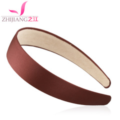 Zhijiang headband Korea simple hairpin hair wash hair with hair headdress versatile solid-colored Barrettes hair accessories