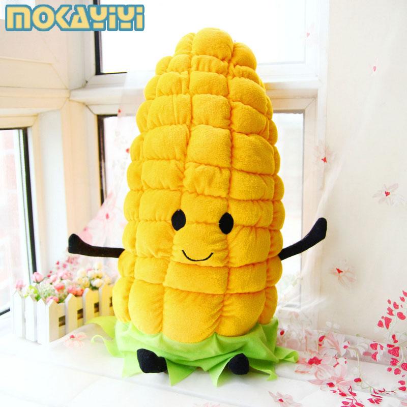 可爱玉米抱枕公仔创意蔬菜毛绒玩具玩偶布娃娃靠垫 生日礼物女生