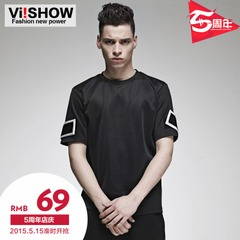 Viishow2015 summer dress new short sleeve t-shirt men American men short sleeve t shirt printing half sleeve t