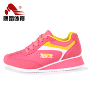 Kang step women's shoes platform high shoes Korean fashion shoes low cut sports shoes and leisure shoes lightweight