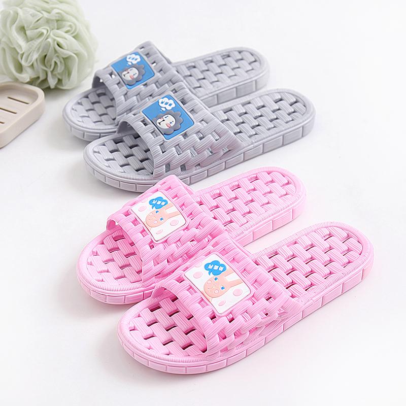 拖鞋女夏室内家居浴室拖鞋镂空软底男洗澡塑料地板漏水凉拖鞋家用