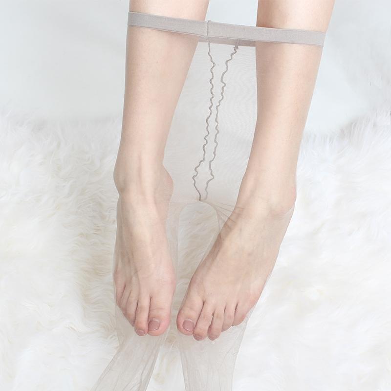 0D超薄丝袜女薄款无痕隐形连裤袜裸肤色脚尖全透明一线档肉色夏季