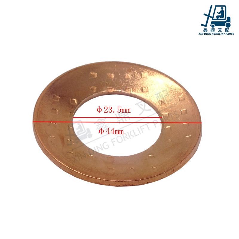 叉车配件适用于CPC3K老款广州厦门杭叉3L/3C行星齿轮垫 铜垫