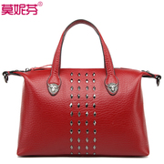 Monifah ladies bag 2015 new tide laptop shoulder Messenger bag leather bags leather handbags