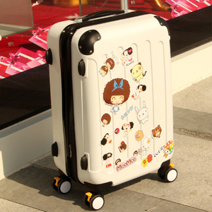 Northern Ireland extended trolley suitcase caster box female board chassis luggage drag boxes 262420 inch M