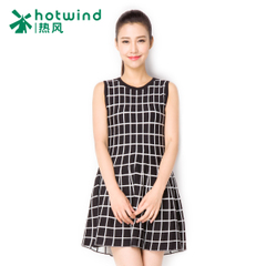 Hot spring and autumn Plaid skirt dress vest dress vest skirt Tutu flashes 19H5707