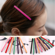 Know Richie fashion headwear Korean high-grade matte clip cute fashion simple hair clip bangs clip