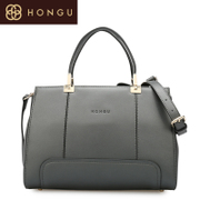 Honggu Hong Gu counters authentic new 2016 European fashion thread stitching leather women bag 6576