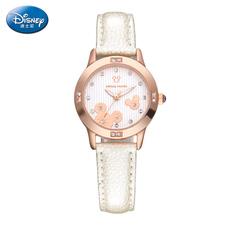 迪士尼女士手表 米奇韩国时尚少女孩石英表 迪斯尼中学生皮带手表