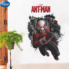 迪士尼正品蚁人墙贴 卧室儿童房背景墙贴纸 男孩房间装饰贴画