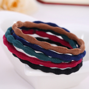 Know Richie band Korean string Korea headwear hair jewelry hair rope ring OU personality, cute hair bands