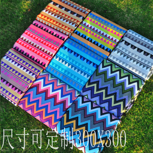 Triangle picnic mat moisture-proof mat thick Oxford cloth mat lawn mat portable picnic cloth mat outdoor supplies