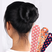 Know Connie hair Korea hair accessories fabric hair rods hair ball artifact head bud head tool head