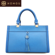 Honggu Hong Gu 2015 counter genuine new European fashion casual ladies leather handbags for 5787