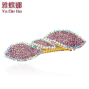 Ya-na Korean rhinestone hair accessories spring Korea hair ornament hairpin clip card