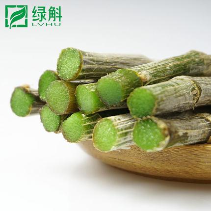 绿斛云南仿野生紫皮鲜条 新鲜石斛鲜条制干条枫斗
