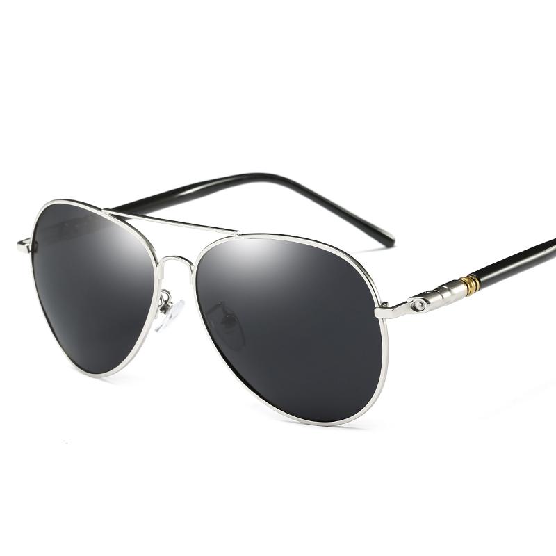默契男士太阳镜新款偏光潮人墨镜司机镜开车近视太阳眼镜蛤蟆镜男