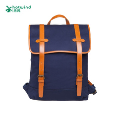 2015 new rucksack man bags of hot air/oil on canvas shoulder bags school bags man bag 50W5106