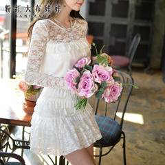 Pink jumpsuit women summer doll new 2015 women's shorts and casual elegance of lace jumpsuit