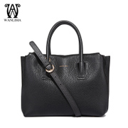 Wan Lima 2015 fall/winter new fashion leather women bag tumble Pu leather ladies handbag shoulder bag