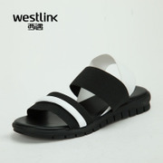 Westlink/West stretch fabric sandals