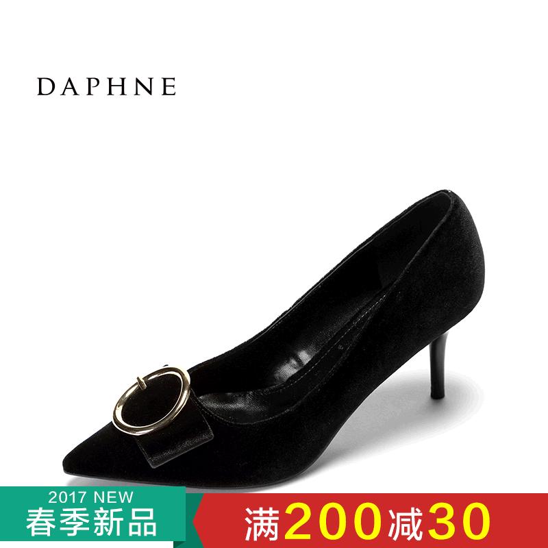 Daphne/达芙妮新款舒适通勤女鞋