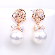 Good pretty Korean brides earrings fashion jewelry quality earrings versatile decorative earrings earrings jewelry