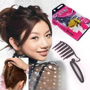 Know Richie French party hair curler set hair comb comb insert bud head ball ornaments