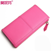 Purse female tide leather wallet new 2015 European fashion zipper around wallet wallet clutch bag