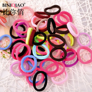 50 mounted the Korean version of stretch and use heavy duty seamless rubber hair bands do not hurt the hair band hair accessory jewelry