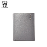 New Wanlima/million 2015 fall short men's wallets genuine leather men's business casual wallets
