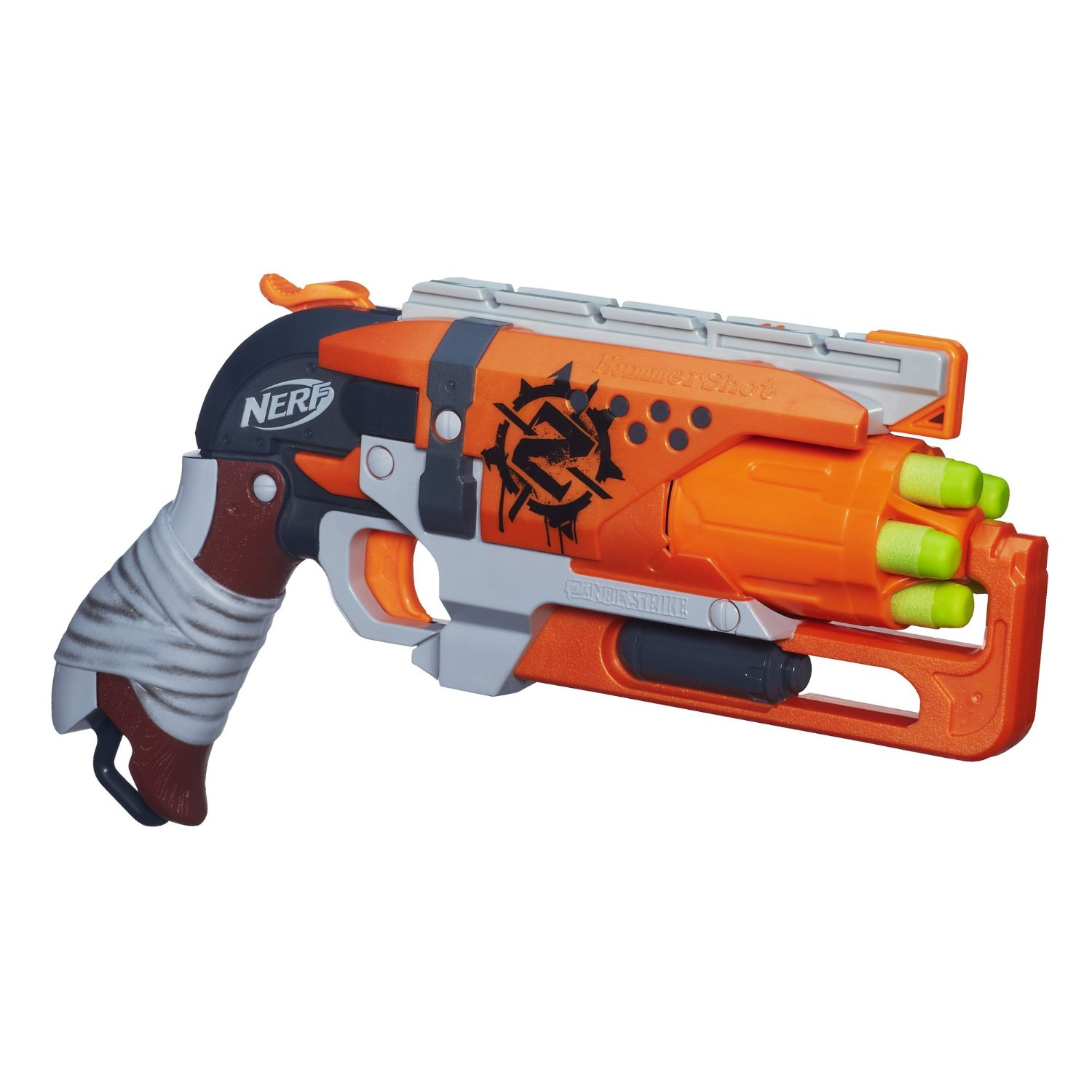 Hasbro Nerf heat Zombie zombie series of stiff cattle Hammershot soft missile launcher US version of