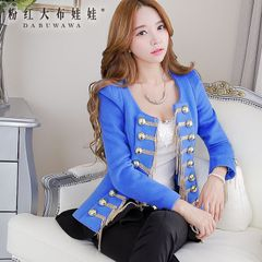 Coat women pink doll spring 2015 new ladies jacket boomers cultivating small fields breathe sweet jacket