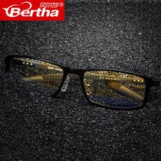 Bertha防蓝光防辐射眼镜男女情侣抗疲劳电脑护目镜游戏电竞平光镜