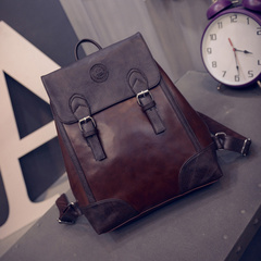 United States around 2015 winter new style trend of the Korean version of the retro shoulder bags school wind backpacks student bags bags women bags