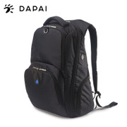 Dapai new Korean double shoulder bag casual backpack gym bag travel bag computer bag College men and women wind bag