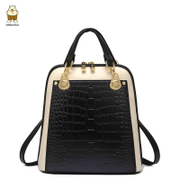 North Korean women for 2015 new purses crocodile pattern color for fall/winter backpack x