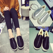 Lok Fu shoes women winter end of 2015 and thick velvet platform shoes increased student shoes leisure shoes